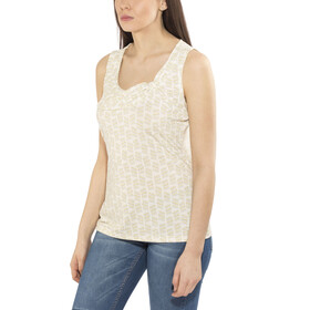 Royal Robbins Essential Tencel Dash Mouwloos Shirt Dames beige
